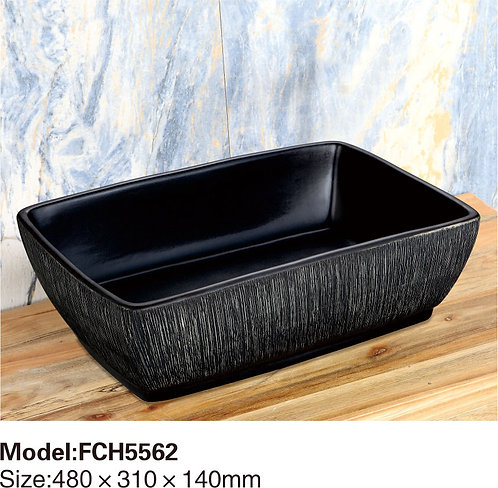 Керамическая накладная раковина Naturflair FCH5562
