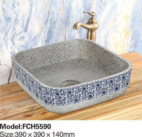 Керамическая накладная раковина Naturflair FCH5590