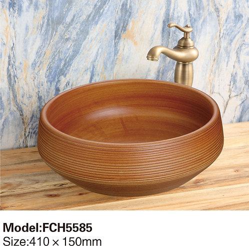 Керамическая накладная раковина Naturflair FCH5585