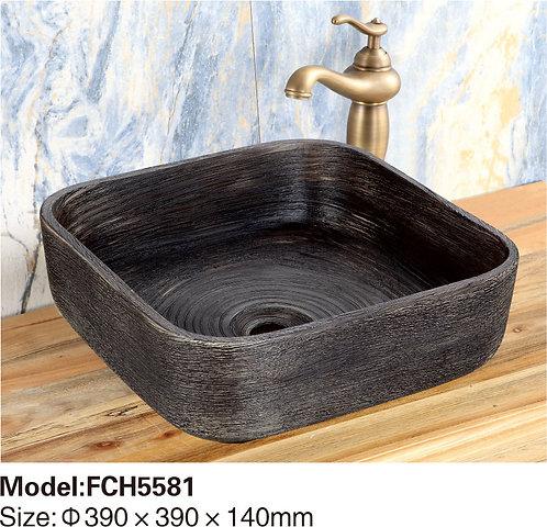Керамическая накладная раковина Naturflair FCH5581