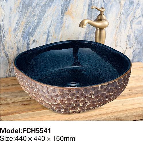 Керамическая накладная раковина Naturflair FCH5544