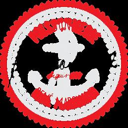 poissonnerie marchand signature logo vec