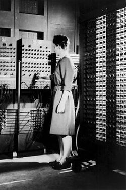 ITS professor contributed to ENIAC