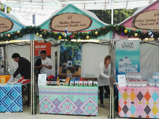 Food and Health Tech Finland at present in the Hong Kong Christmas Market