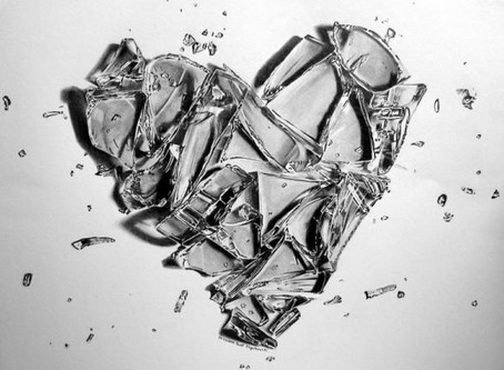 Broken glass, Shattered heart?