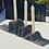 Thumbnail: Bougeoir centre de table en grès noir   CGLab