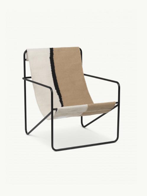 Fauteuil Outdoor Desert chair black/Soil