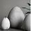 Thumbnail: Décoration à poser Heavy Egg  en ciment