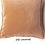 Thumbnail: Coussin Pip en velours stonewashed Caramel