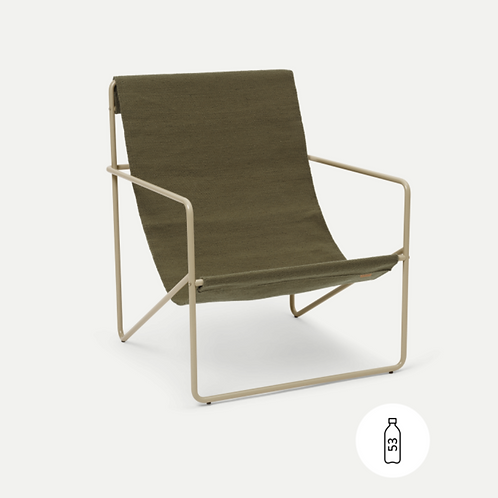 Fauteuil Outdoor Desert chair cashmere/olive