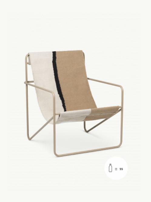 Fauteuil outdoor Desert chair cashmere/Soil