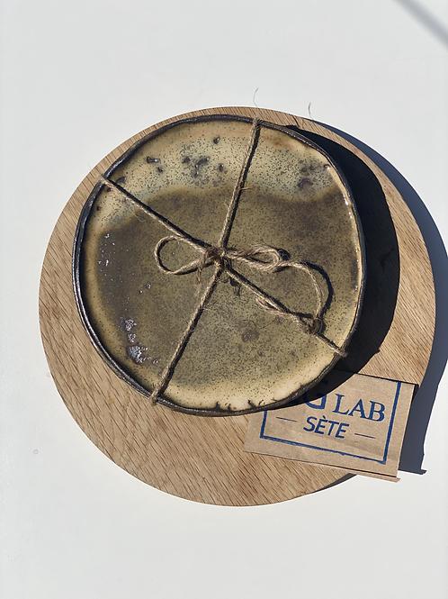 Assiettes dessert en grès émaillée  CGlab (lot de 2)