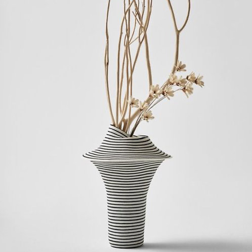 "Vase ""much Stripe"" Large"