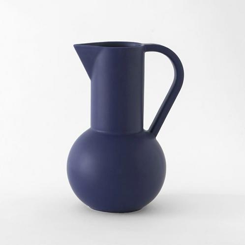 Vase-carafe Strom M blue