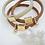 Thumbnail: Bracelet SUNNY brown