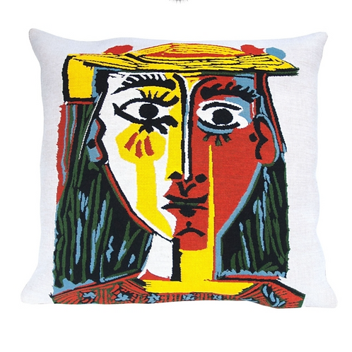Coussin tapissier Picasso* by J.Pansu