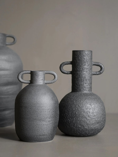 Vase Long M black