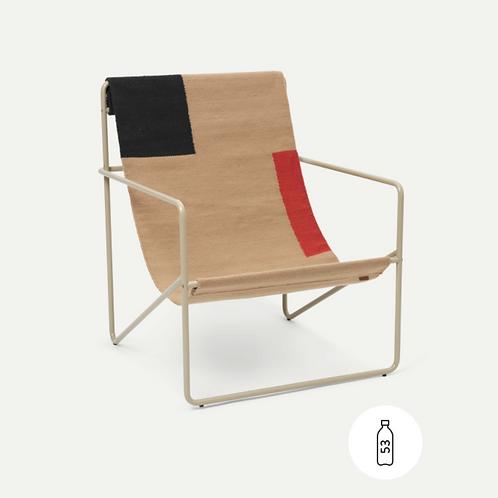 Fauteuil outdoor Desert chair color  block