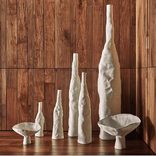 """Vase haut """"Fleur Lily """"  XL White"""