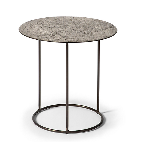 Table d'appoint Lave  taupe
