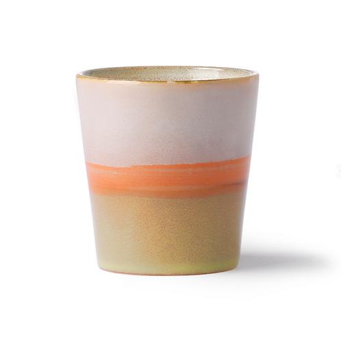 Tasse/Mug  Saturne,  70's ceramic