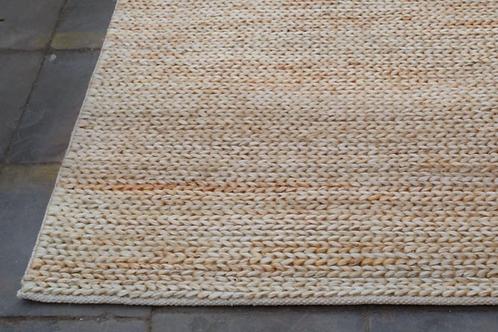 Tapis jute-coton IVOIRE