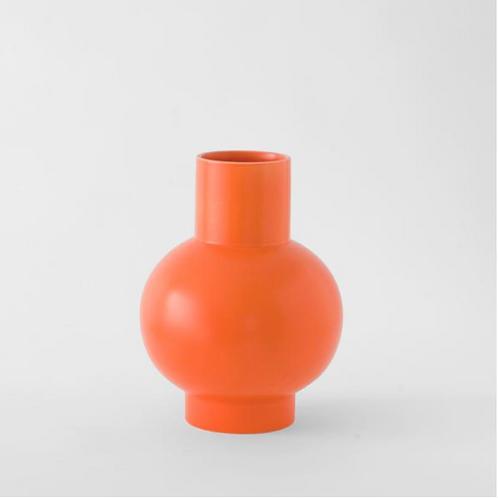 Vase  Strom L - orange vibrant