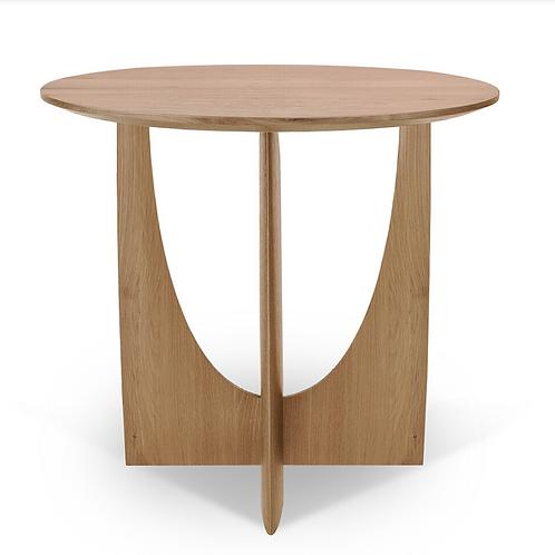Table d'appoint Oak geometric