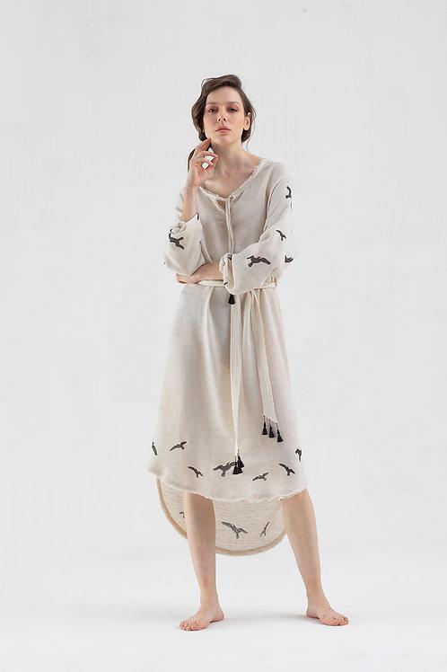 Robe longue Sleeve  IKIKIZ