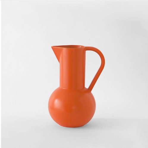 Vase-carafe Strom M Orange vibrant