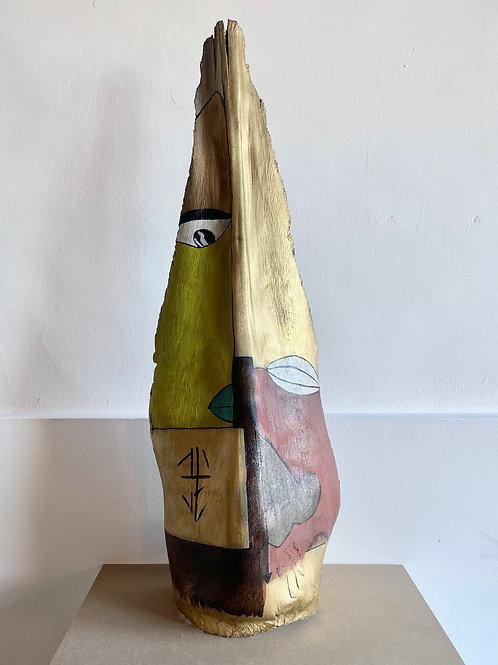 Sculpture sur palme F2Dubois