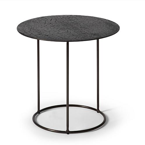 Table d'appoint Lave noir