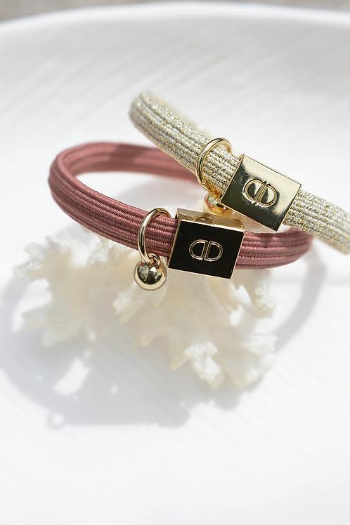 Bracelet SUNNY rose peau