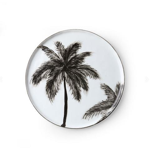 Assiette a dessert Palms
