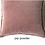Thumbnail: Coussin Pip en velours stonewashed Powder