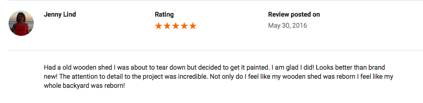 Google Review (Ocean City, MD)