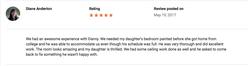 Google Review (Fruitland, MD)