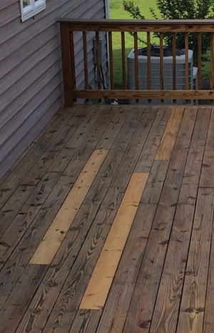 Deck Board Replacement