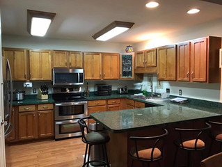 A happy ending to a long remodel in Ocean Pines, MD:  The Kitchen Cabinet Story