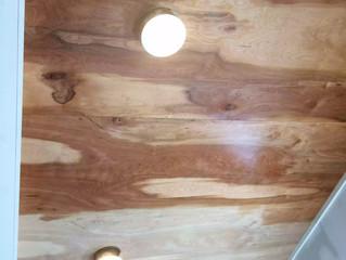 A unique idea for a ceiling.