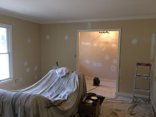 Where to start when painting a room. - Arey Painting - Salisbury, MD