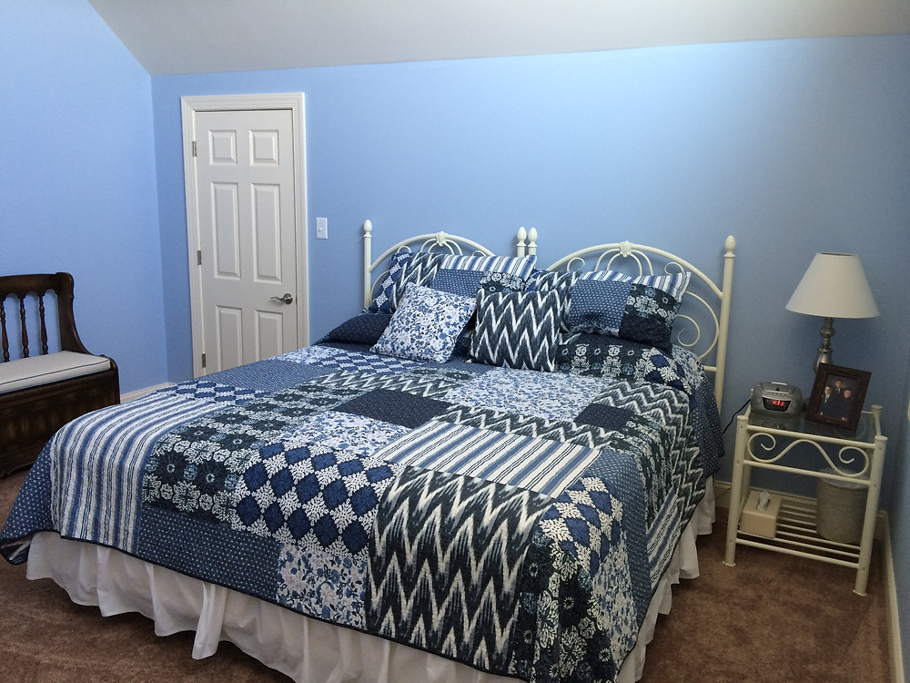 Interior Bedroom Repaint by Arey Painting