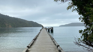 Running the Queen Charlotte Track