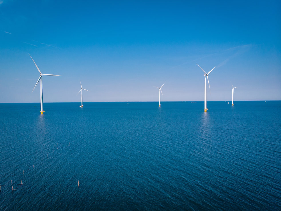 Wind turbine clean energy