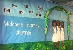 Welcome Wall in Manley 2016