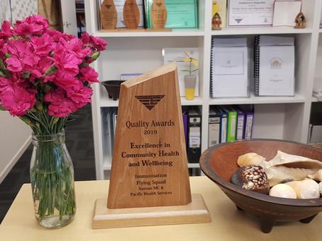 HUTT VALLEY DHB QUALITY AWARDS