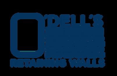 O'Dell's Retaining Walls - Logos_Navy (1
