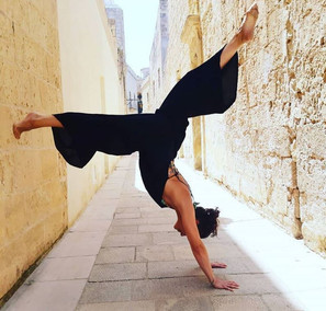 yoga in mdina.JPG