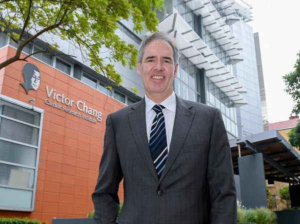 Professor Jason Kovacic Photo supplied: Victor Change Cardiac Research Institute
