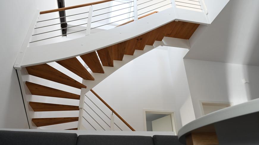 Umbau - Doppelhaus zu Zweifamilienwohnhaus